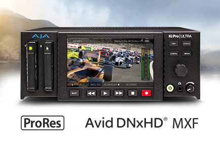 AJA Releases Ki Pro Ultra v2.2 Firmware with Avid MXF Support