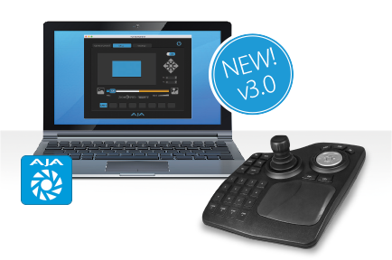 AJA Brings New Features to The RovoCam Camera System  with RovoControl 3.0 Software