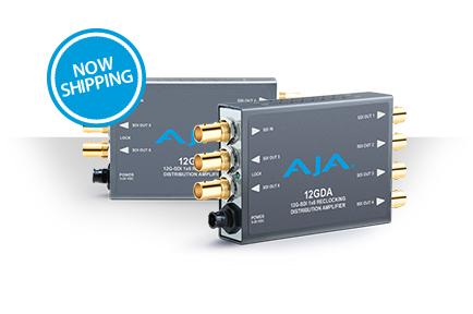 AJA Releases 12GDA Mini-Converter