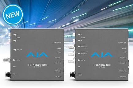 AJA Expands IP Mini-Converter Portfolio at IBC 2018