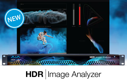AJA Launches HDR Image Analyzer at IBC 2018