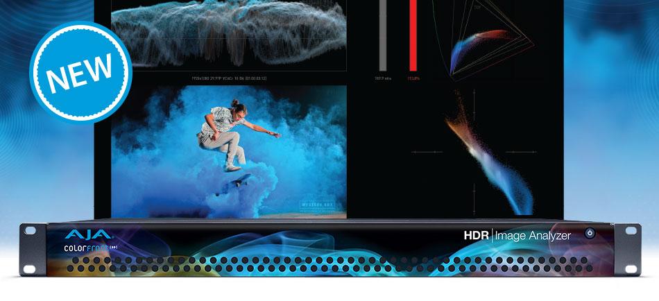 AJA Launches HDR Image Analyzer at IBC 2018