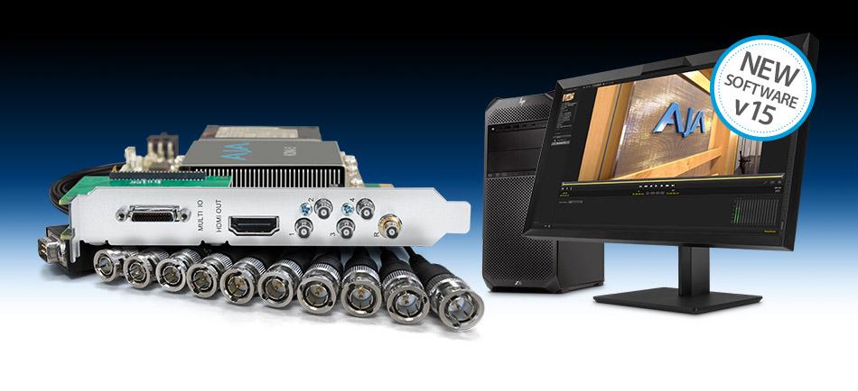 AJA Introduces KONA 5 with 12G-SDI I/O, and Desktop Software v15