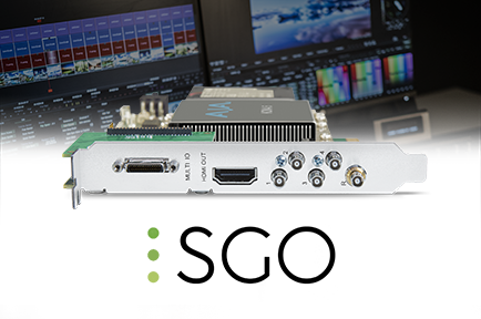 SGO Integrates AJA KONA 5 into Mistika Ultima Systems for 8K Production
