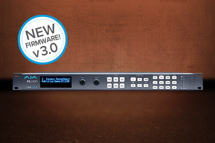 AJA Unveils FS-HDR v3.0 Firmware