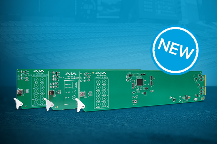AJA Releases New openGear® Rackframe Cards with DashBoard Support at NAB 2019