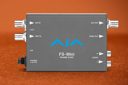 AJA Launches the FS-Mini Frame Synchronizer at IBC 2019