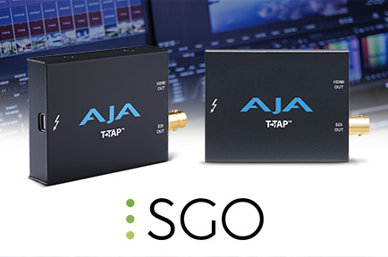 SGO Delivers AJA T-TAP Support for Mistika Boutique