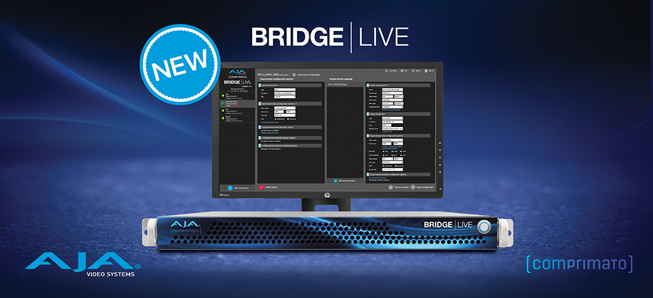 AJA Introduces BRIDGE LIVE