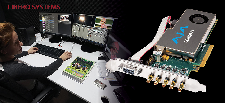 Libero Systems Streamlines Capture of Live Equestrian Races for TJK With AJA Corvid 44