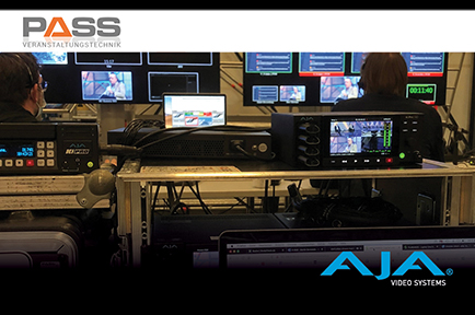 Pass GmbH Produces Virtual and Hybrid Events For  Global Clients With AJA Gear