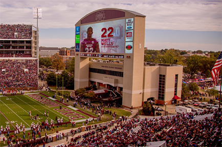 Broadcast Media Group Uses AJA Ki Pro Quad to Capture 4K Video of Mississippi State Football Team