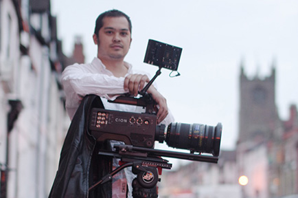 Filmmaker Ali Walker Shoots Luxury Brand Films with CION