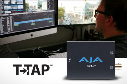<i>Danni Lowinski</i> Editor Leverages AJA T-TAP™ for Flexible HD Monitoring  <br /> with Apple® Final Cut Pro® X