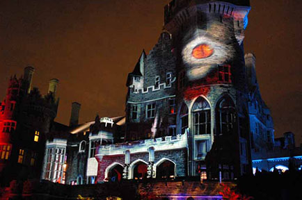 "AJA KONA® and Io® 4K Help Color Casa Loma's ""Legends of Horror"""