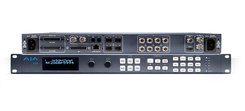 AXS TV Adds FS4 to Boost Audio, Fiber and Embed/De-Embed Support in Broadcast Truck Loaded with AJAProKit