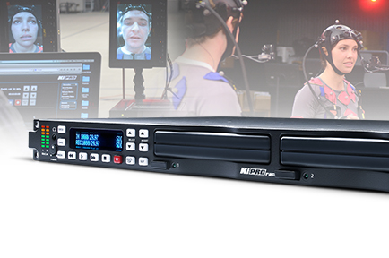 Faceware Technologies Relies on AJA Ki Pro Rack to Record Top Quality Facial Performances