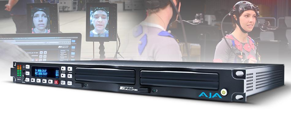 Faceware Technologies Relies on AJA Ki Pro Rack to Record Top Quality Facial Performances