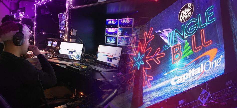 AJA Ki Pro Racks, FS2s and Mini-Converters Help VER Drive Live Event