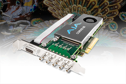 AJA Corvid 88 Powers I/O for AZLAB's Inspiration WS/SDI 8K Media Server