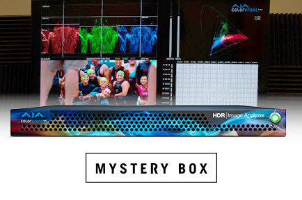 Mystery Box Delivers Picture Accurate HDR Production & Mastering with AJA HDR Image Analyzer