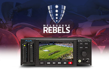 AJA Ki Pro Ultra Plus Gives Melbourne Rebels Rugby Union a Leg Up on Performance Analysis