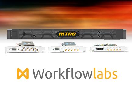 AJA Corvid Powers Up to 4K Video & Audio I/O for WorkflowLabs' Nitro Broadcast Video Server