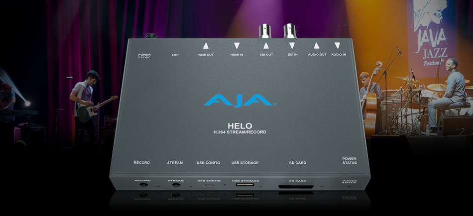 Java Jazz Festival Livestreams Performances Internationally with AJA Gear