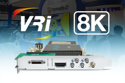 AJA KONA 5 Powers 8K Playout for VRi's Next-Generation Broadcast Graphics System