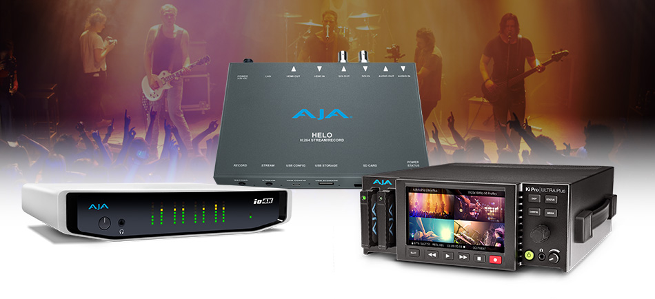 AJA Gear Helps Freelance Technical Director Lutz ConneusAdapt to Client AV Demands