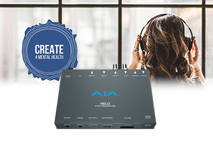 Create4MentalHealth Simplifies Streaming Workflows with AJA HELO