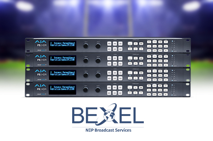 Bexel Helps Deliver Football's Biggest Game to Audiences Live in  HD HDR and HD SDR with AJA FS-HDR