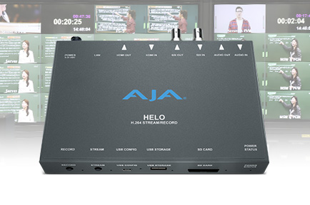 EBS Meets Heightened Demand for Educational Streaming with AJA HELO