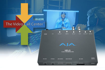The Video Call Center Redefines Live Video Remotes with AJA HELO and ROI