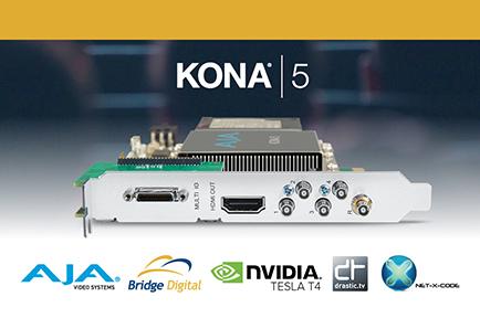 Bridge Digital Realizes New 4K HEVC Encoding Solution with AJA KONA 5
