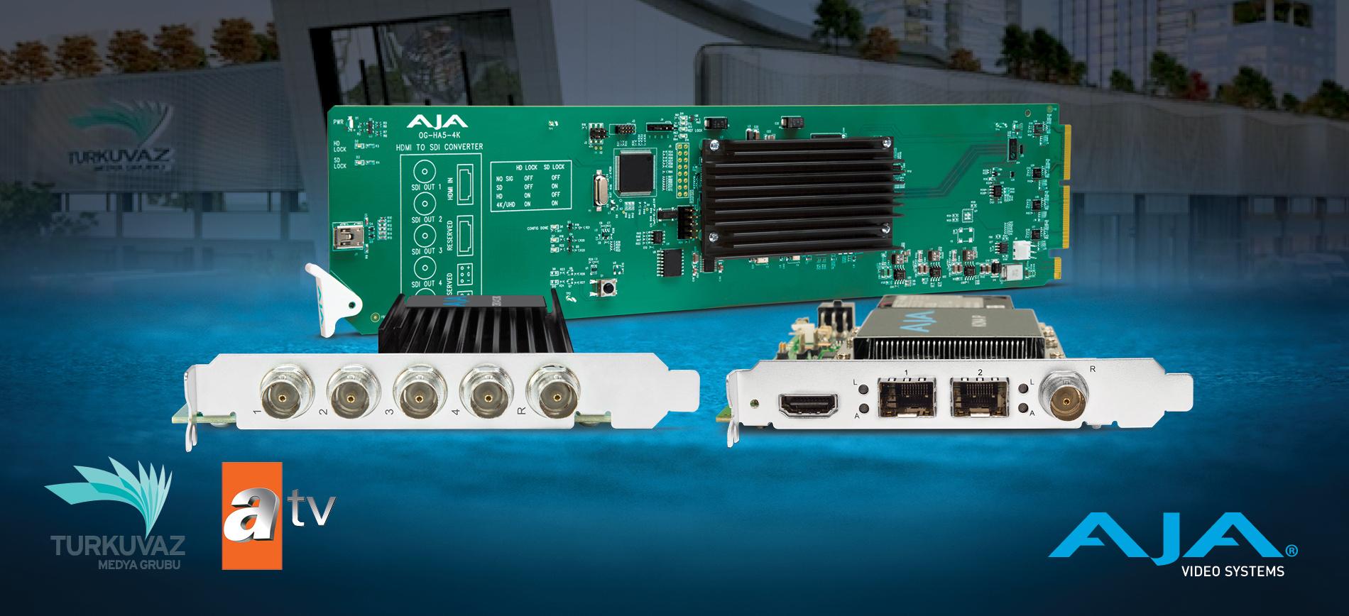 AVITENG Deploys Hybrid Baseband/IP Architecture for Turkey's ATV Broadcast Network with AJA Solutions