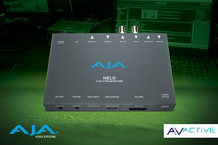 AVActive Takes Conferences and Events Online  with AJA HELO for Live Streaming