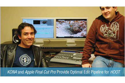 AJA KONA and Apple Final Cut Pro Provide Optimal Edit Pipeline For Wide Release Feature Film