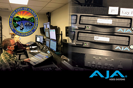City of Santa Barbara Reaches Local Community with Live Streams Powered by AJA Gear