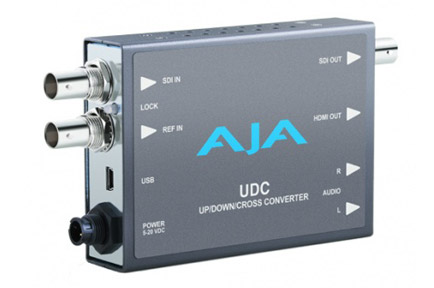 AJA Ships UDC Up/Down/Cross Mini-Converter