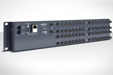 AJA Introduces KUMO 3232 Compact SDI Router at IBC 2012