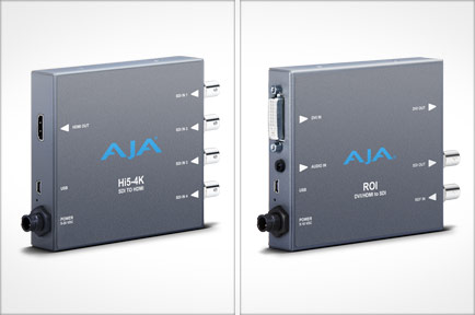 AJA Launches New Mini-Converters at NAB 2013