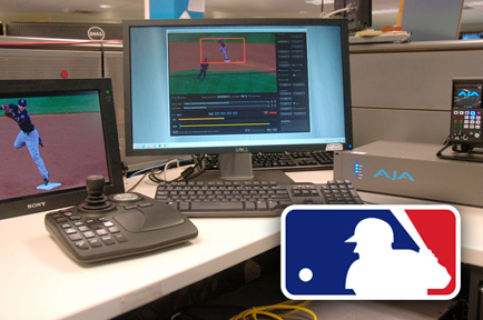 AJA TruZoom™ Enables MLB Network to Telecast Dynamic Region-of-Interest (ROI) Extractions From 4K Cameras