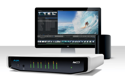 AJA Previews Io 4K with Thunderbolt™ 2 at IBC 2013