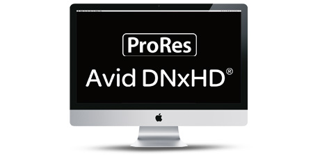 ProRes - AVID DNxHD