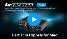 Io Express on Mac