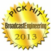 Broadcast Engineering Pick Hit