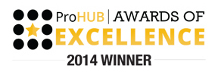 ProHub Award Winner 2014