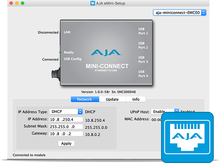 AJA Video Systems – Software and Utilities for Streamlining