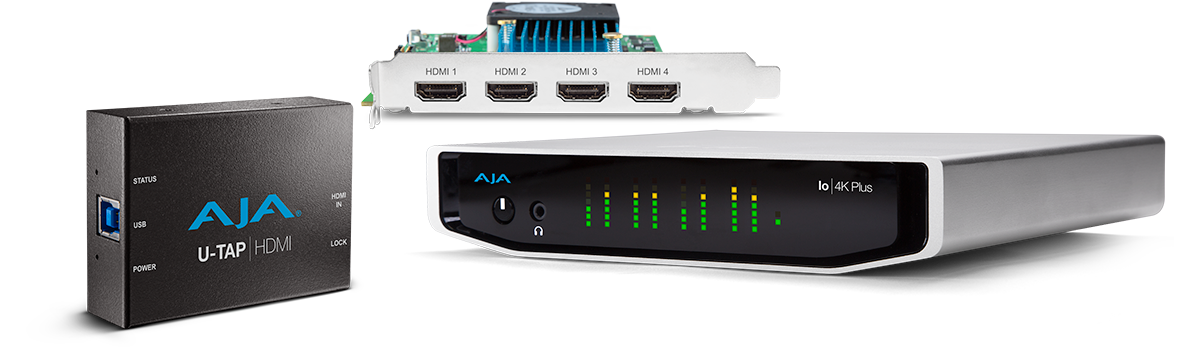 Streaming Solutions - AJA Video Systems